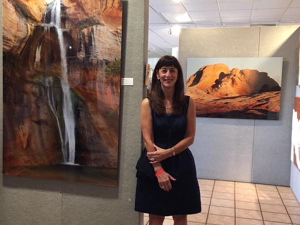 Jill at Gallery